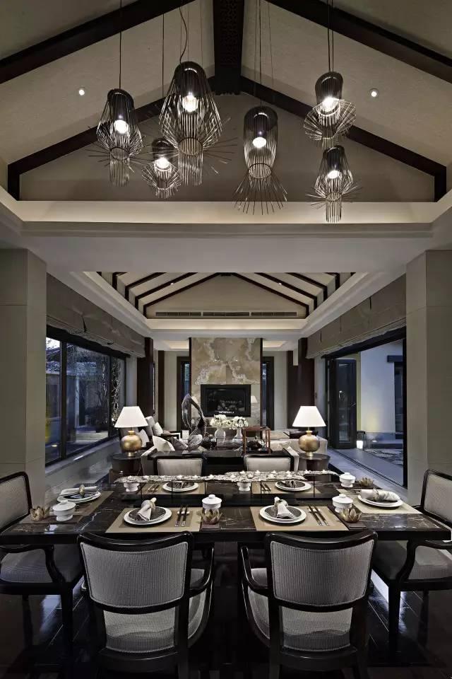 茶室 | 设计 当茶室遇上新中式, 偌大的茶室, 可以只是 一处茶席